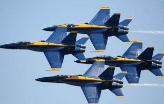 2020 Pensacola Beach Blue Angels Air Show