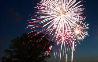 Fireworks at the Boardwalk