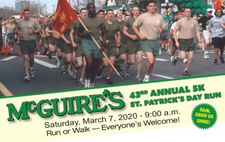 McGuire's 43rd Annual St.Patrick's Day 5K