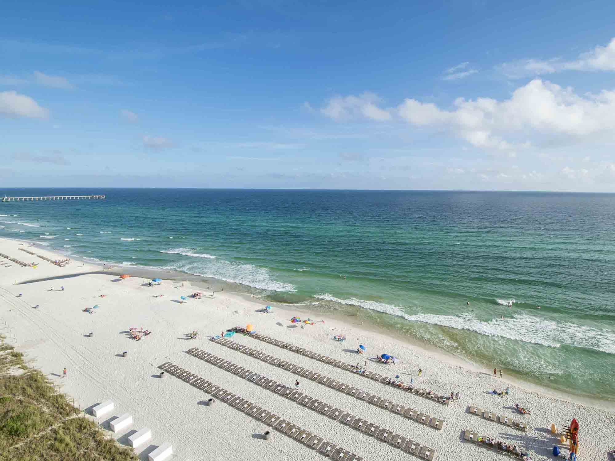 View from Tidewater #1010 in Panama City Beach, Florida