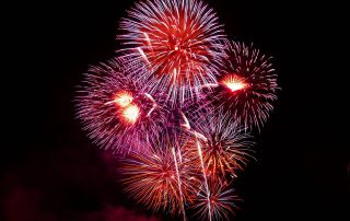 Fireworks on Pensacola Beach