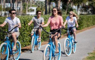 Teens Biking on 30A